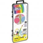 Водни бои Fiorello 12 цвята