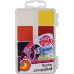 Водни бои Kite My Little Pony медени 8 цвята