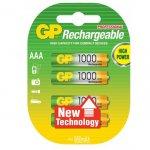През. батерия GP R03 AAA 1000mAh NiMH 3+1 бр.
