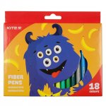 Флумастери Kite  Jolliers 18 цвята в кутия