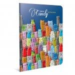 Gipta Candy Тетрадка А5, бяла, широки редове, PP корица, 40 листа