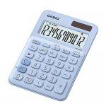 Casio Настолен калкулатор MS-20UC, 12-разряден, светлосин