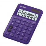 Casio Настолен калкулатор MS-20UC, 12-разряден, лилав
