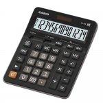 Casio Настолен калкулатор GX-14B, 14-разряден, черен