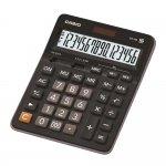 Casio Настолен калкулатор GX-16B, 16-разряден, черен