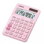 Casio Настолен калкулатор MS-20UC, 12-разряден, розов