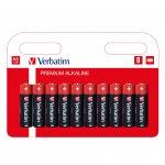 Verbatim Алкална батерия, AAA, LR3, 10 броя