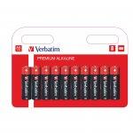 Verbatim Алкална батерия, AA, LR6, 10 броя