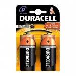 Duracell Алкална батерия, D, LR20, 1.5 V, 2 броя