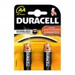 Duracell Алкална батерия, AA, LR6, 1.5 V, 2 броя