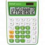 Настолен калкулатор Rebell SDC912+ Зелен