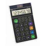 Настолен калкулатор Victoria GVA-612 Черен Бял