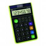 Настолен калкулатор Victoria GVA-612 Черен Зелен