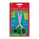 Faber-Castell Ножица, детска, с ограничител, 13 cm, в блистер