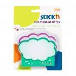 Stick'n Самозалепващи листчета Облак, 76 x 101 mm, 40 листа, 2 броя
