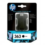 HP no. 363 патрон черен 6 ml