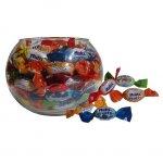 Стъклена купа за дребни бонбони 15 cm