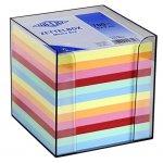 Цветни листчета с поставка Wedo 95x95 mm