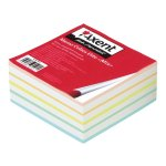 Цветно хартиено кубче Axent Elite Mix залепено 90x90 mm 400 л.