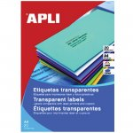 Етикети Apli матово-прозр. 70x37 mm A4 20 л.