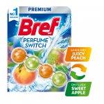 Bref Ароматизатор за тоалетна Premium, комбинация праскова с ябълка, 50 g