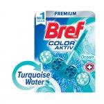 Bref Ароматизатор за тоалетна Color Aktiv, тюркоазен, 50 g
