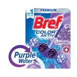 Bref Ароматизатор за тоалетна Color Aktiv, лилав, 50 g