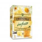 """Twinings Чай """"Ванилия, мед и лайка"""", билков, 1.5 g, в пакетче, 20 броя"""