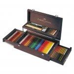 Faber-Castell Комплект за художници Art & Graphic Collection в дървена кутия