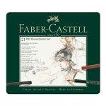 Faber-Castell Комплект моливи Pitt Monochrome, 21 броя в метална кутия
