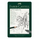 Faber-Castell Комплект моливи Pitt Graphite, 11 броя в метална кутия