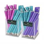 Faber-Castell Джъмбо моливи Sparkle, микс, 72 броя в 2 чаши