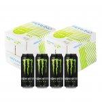 Fabriano Копирна хартия Copy Bio, 100% екологична, A4, 80 g/m2, 500 листа, 10 пакета, в комплект с eнергийна напитка Monster Energy, 4 броя, 500 ml