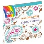 Книжка оцветяване Fiorello Traditional Indian  210x210 тв.к.64л.