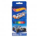 Цветни моливи Kite Hot Wheels 12 цвята
