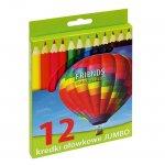 Цветни моливи Grand Jumbo 12 цвята