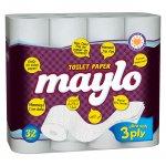 Тоалетна хартия Maylo трипл.32 бр.