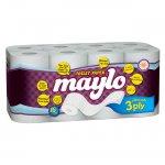 Тоалетна хартия Maylo трипл.16 бр.