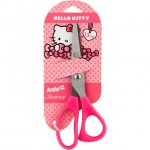 Детска ножица Kite Hello Kitty 13cm пластмасови дръжки Блистер