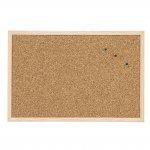 Коркова дъска с дървена рамка Bi-Office 30х40 cm