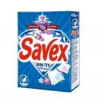 Прах за ръчно бяло пране Savex Diamond Parfum White Brilliance 400 g, в картонена кутийка