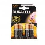 Алкална батерия Duracell Basic 1.5V LR6/AA 4 бр.