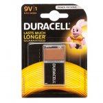 Алкална батерия Duracell Basic 9V 6LF22