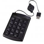 Цифрова клавиатура HAMA SK140, USB, Черен