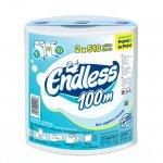 Кухненска ролка Endless двупластова 1000 g, 1бр.х 510 къса, Бял