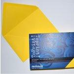 Плик цветен C6 114x162 mm Лепило 25 бр. Жълт