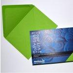 Плик цветен C6 114x162 mm Лепило 25 бр. Зелен
