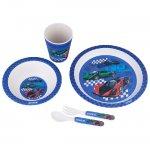 Комплект за хранене Kite Racing Бамбук 5 части