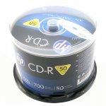 CD-R Hewlett Packard 700 MB, 52x, 50 броя в шпиндел